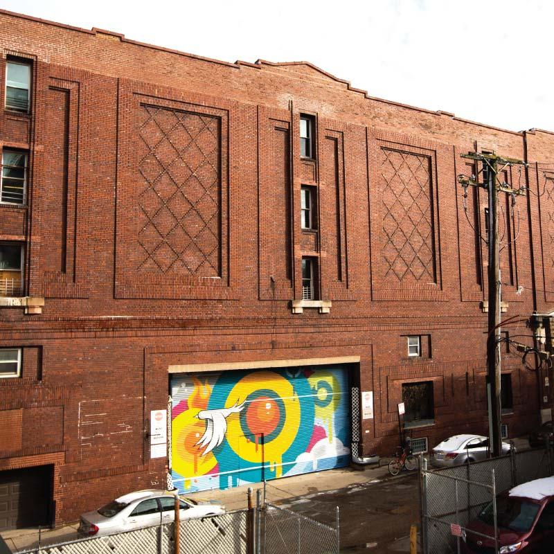 CCO's Sylvia Center building
